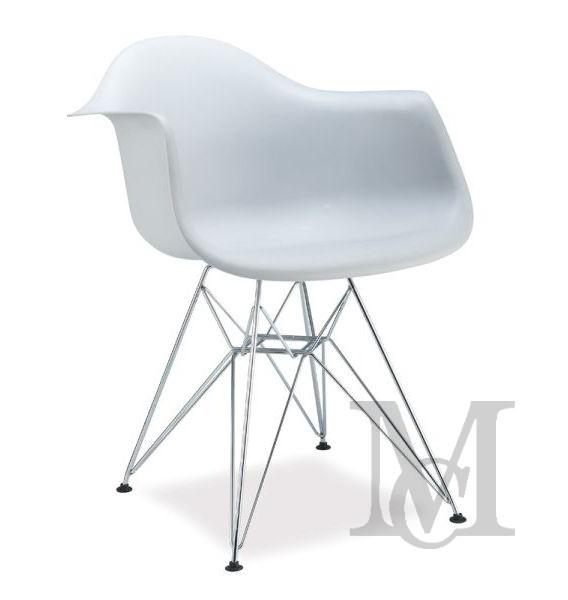 Krzesło Megan Plastikowe Krzesło Do Salonu Kuchni Lub Ogrodu