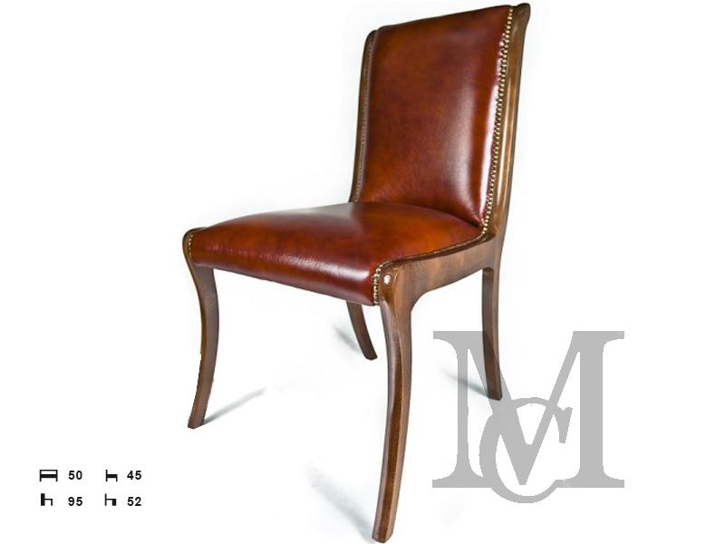 Krzesła Chesterfield Antique 100 Naturalna Skóra Vintage