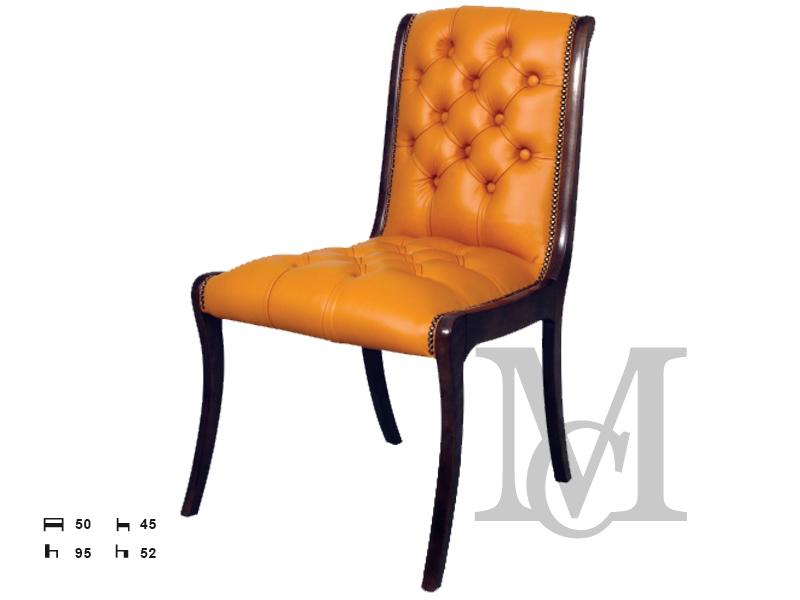 Krzesło Chesterfield 100 Skóra Naturalna Krzesła Ze Skóry Pikowane