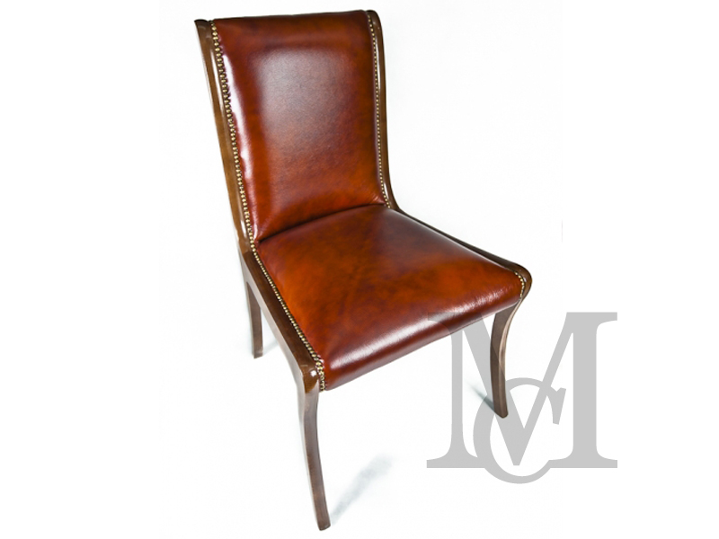 Krzesło Chesterfield Antique 100% skóra naturalna
