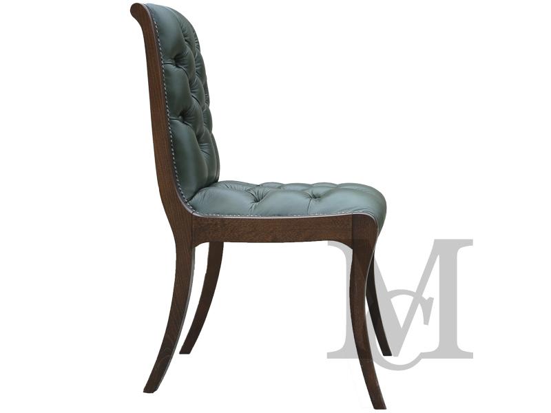 Krzesło Chesterfield 100 Skóra Naturalna